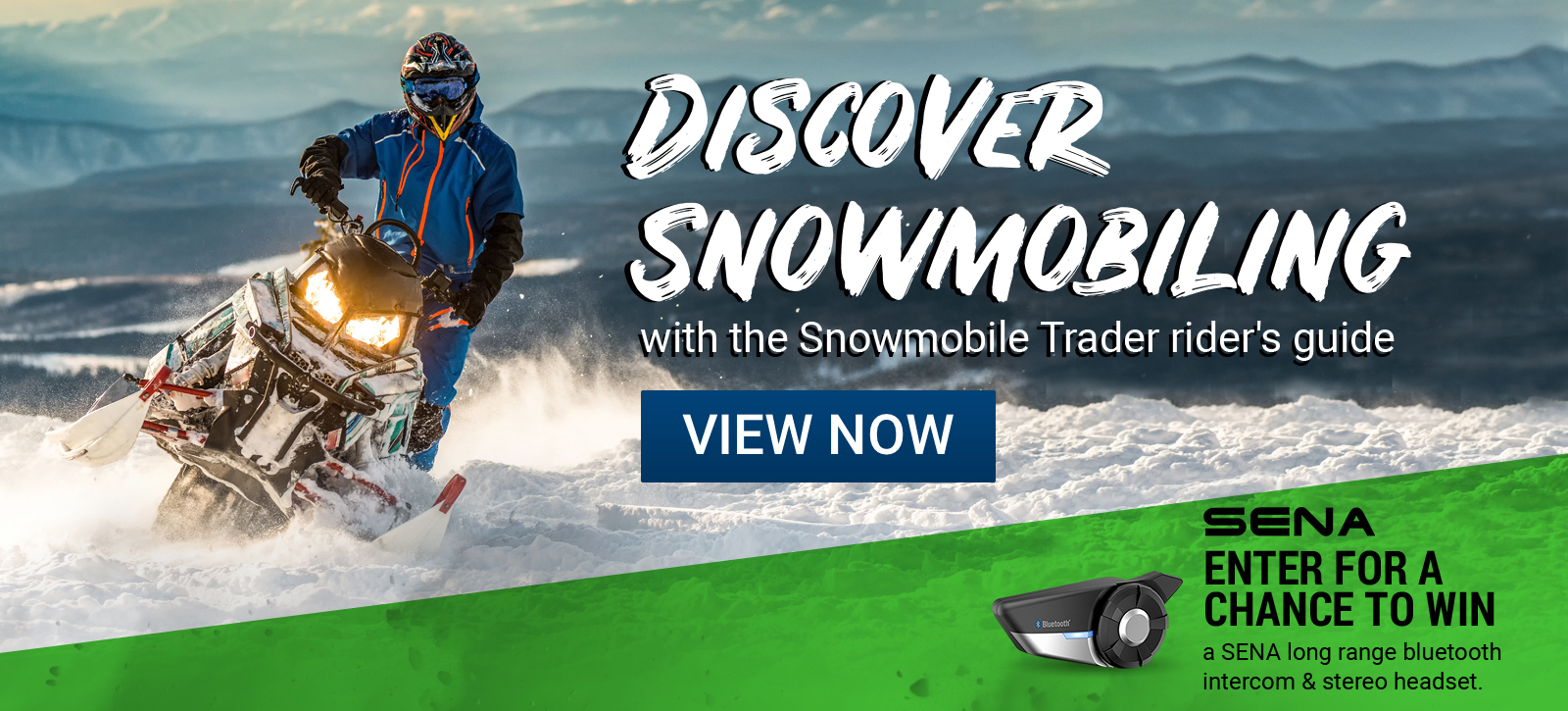 Discover Snowmobiling